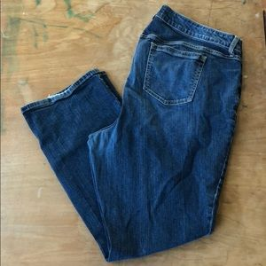 "Torrid ""Barely Boot"" Denim Sz 22"